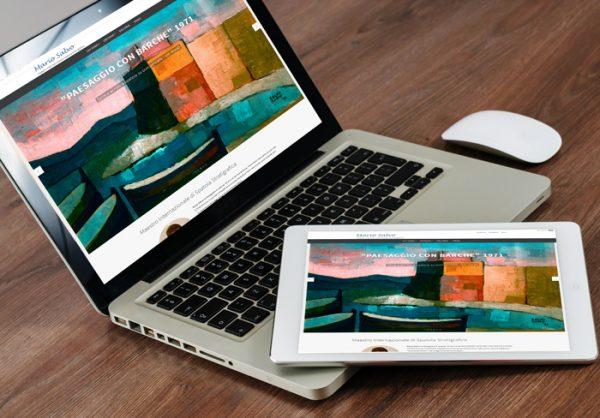 Realizza il tuo Sito web d'artista