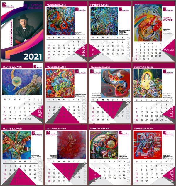 Calendario d'Artista - Un esempio con copertina